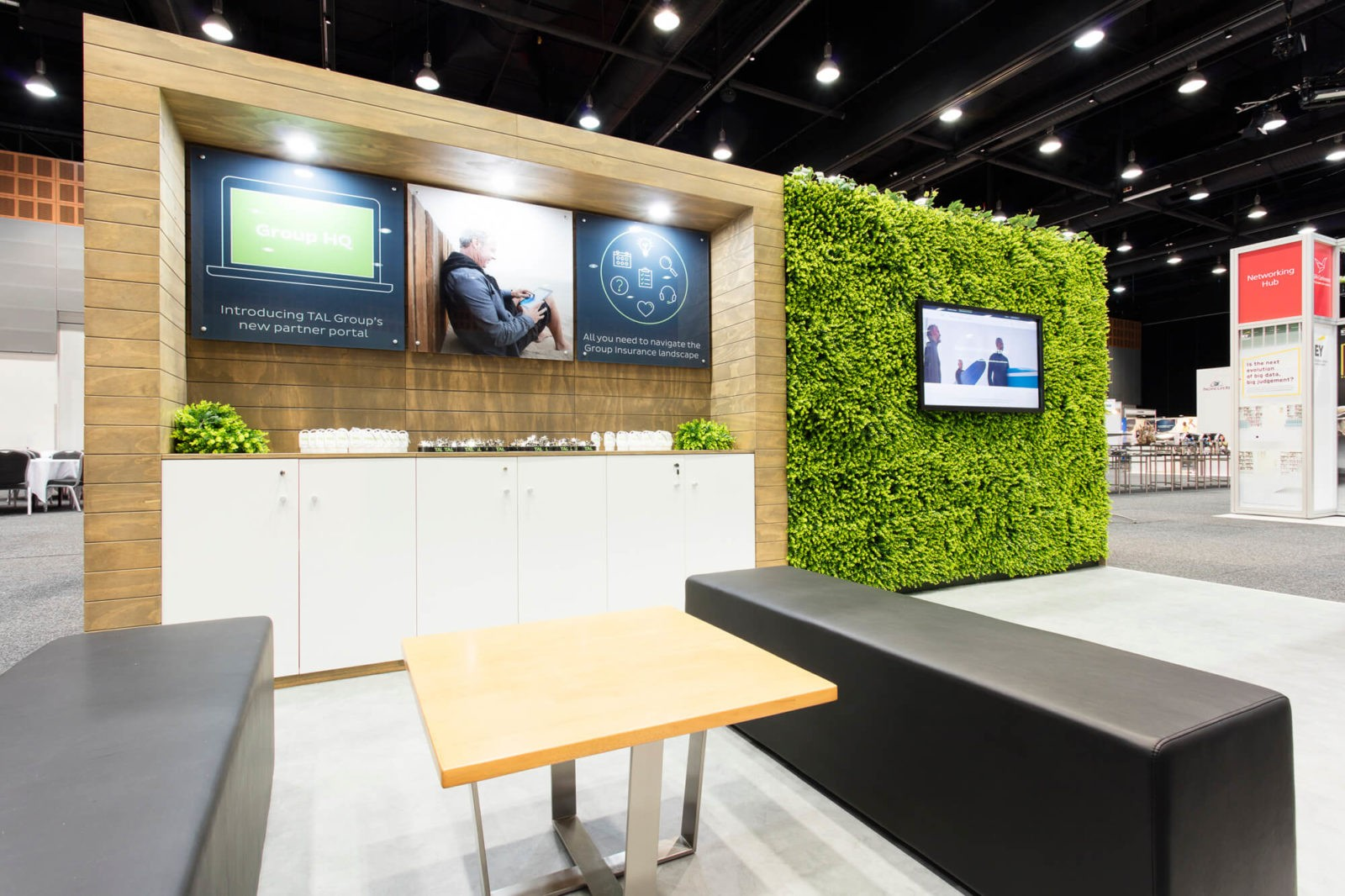 Exhibition Stand Design Case Studies : Tal asfa grand stand events