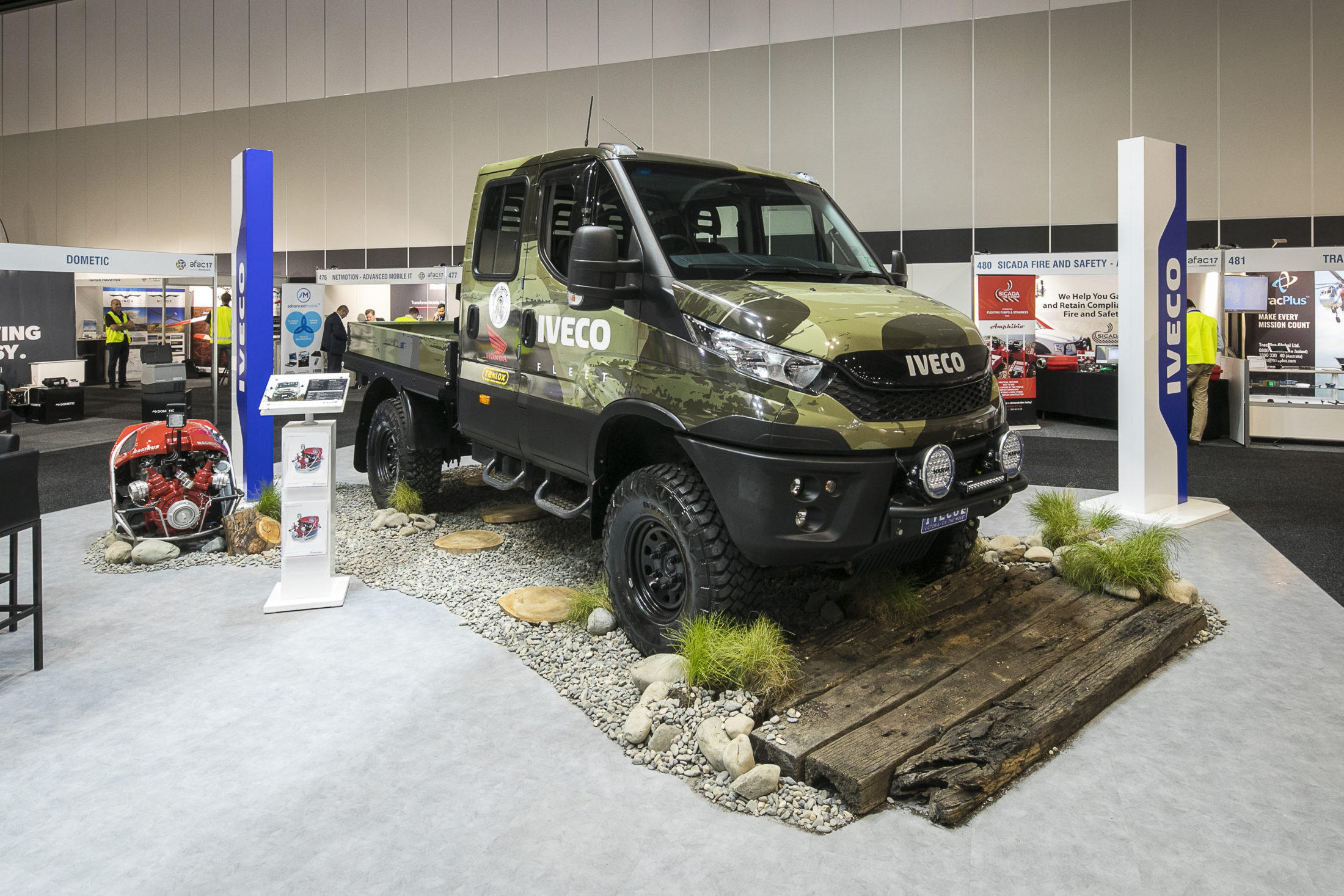 Exhibition Stand Transport : Think of how you can stand out when planning your exhibition stand