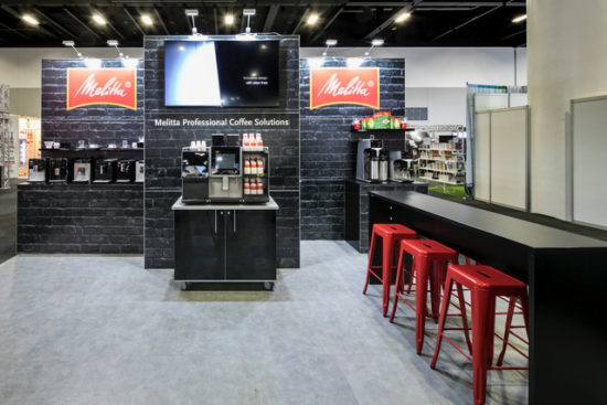 Melitta Coffee Solutions Display Stand