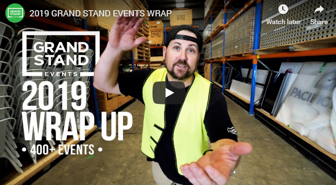 2019 Grand Stand Events Wrap