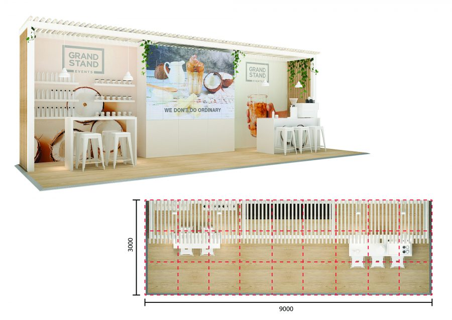 exhibition stand design - 90 Mile Beach