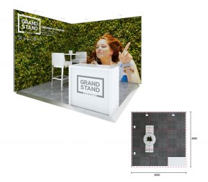 Exhibition stand design - Blinky Beach