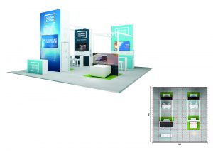 exhibition stand design - Bombo Beach