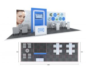 Exhibition stand design - Brighton Beach