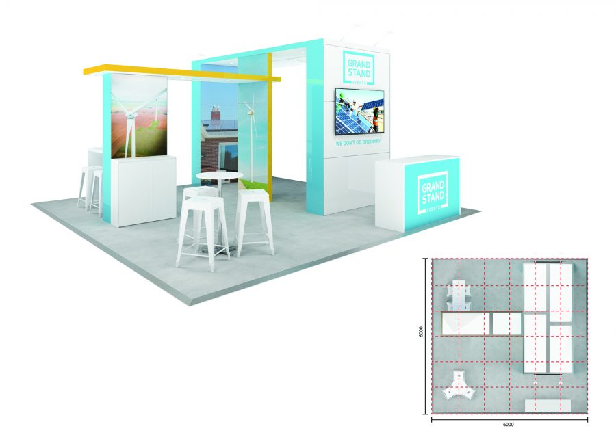 Exhibition stand - Burleigh Beach