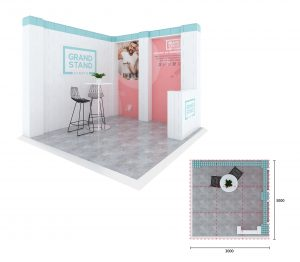 Exhibition stand - Byron Bay