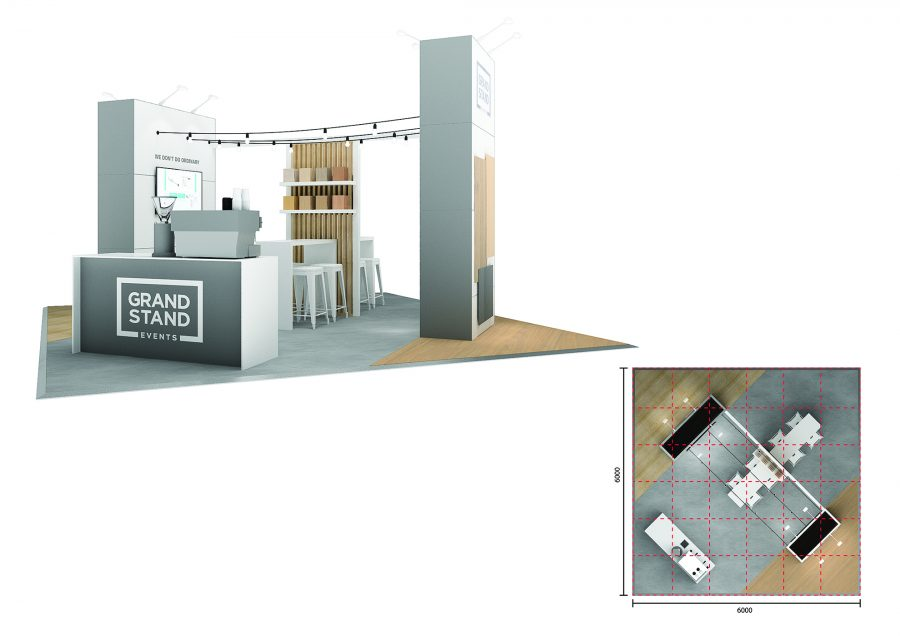 Exhibition stand design - Caves Beach