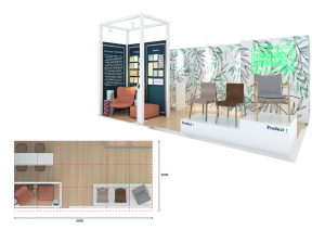 Exhibition stand design - Dudley Beach