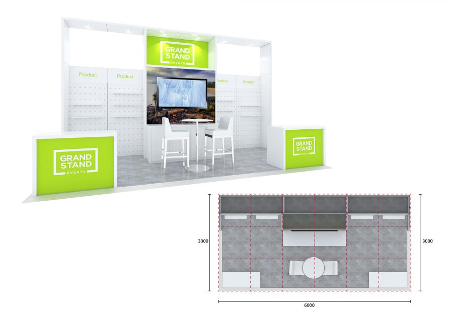 Exhibition stand - Four Mile Beach