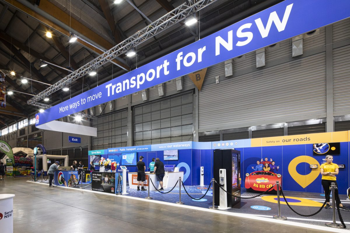 TRANSPORT FOR NSW AT ROYAL EASTER SHOW 2021