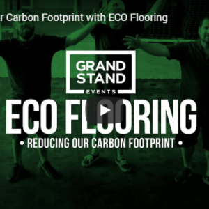 Grand Stand Events using Eco-Flooring