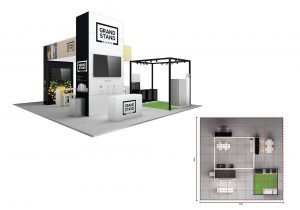 Exhibition stand - Hyams Beach
