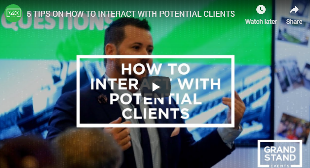 5 tips on how to interact with potential clients
