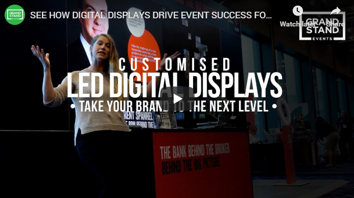 See how LED digital displays drive event success for NAB