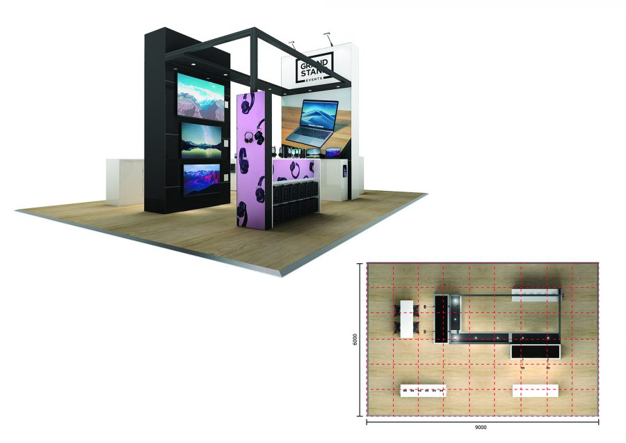 Exhibition stand - Macassan Beach