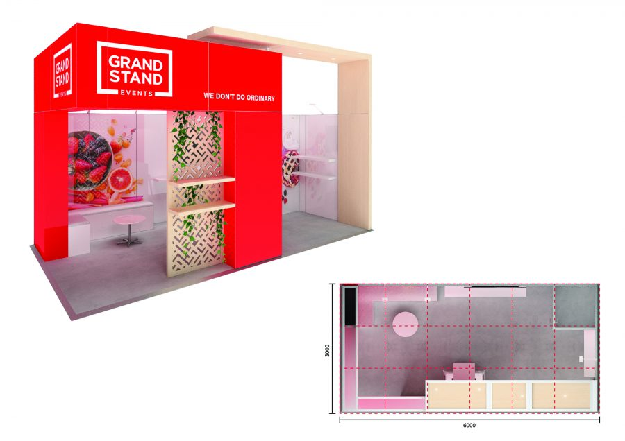 Exhibition stand design - Manly Beach