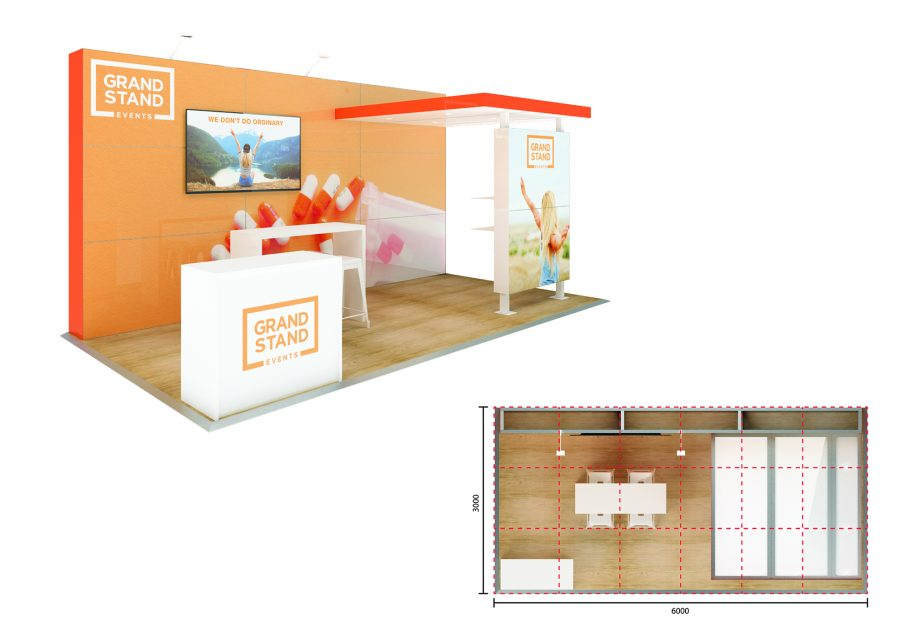 Exhibition stand design - Noosa Beach