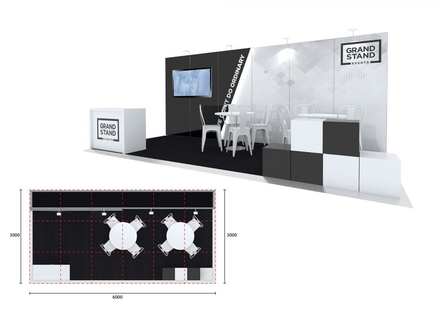 Exhibition stand design - Shelly Beach