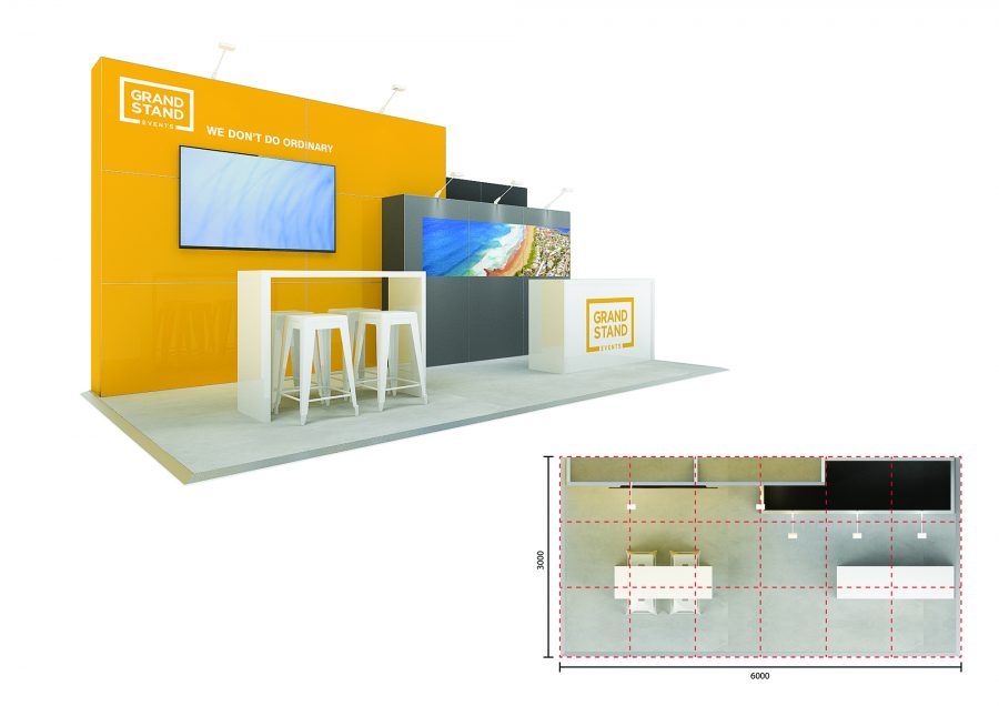 Exhibition stand - Soldiers Beach