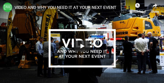 Video and why you need it at your next event