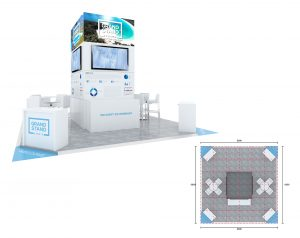 Exhibition stand design - Wineglass Bay