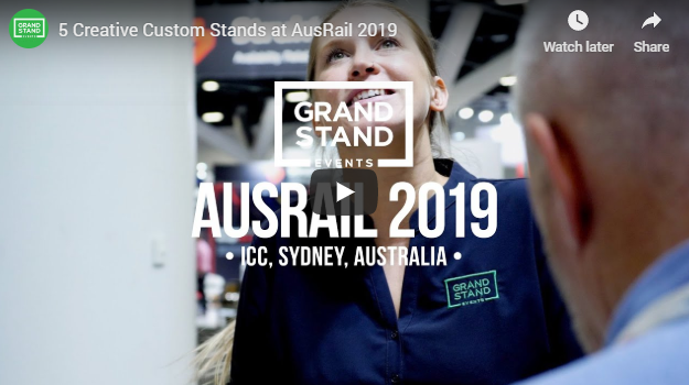 5 creative custom exhibition stands we built at AusRail 2019